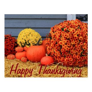 Het Briefkaart van de Thanksgiving (met tekst)