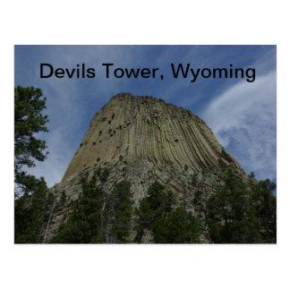 Het Briefkaart van de Toren van duivels