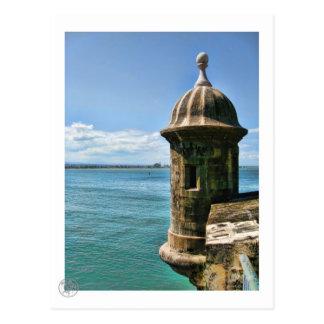Het Briefkaart van de Toren van Gr Morro