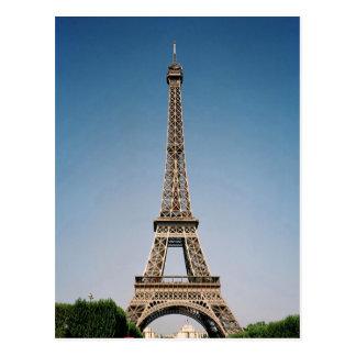 Het Briefkaart van de Toren van Parijs Frankrijk