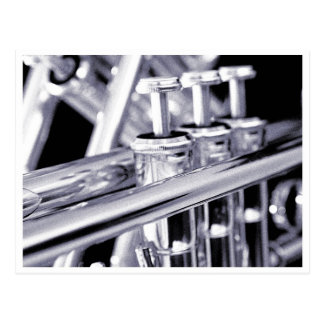 Het Briefkaart van de trompet