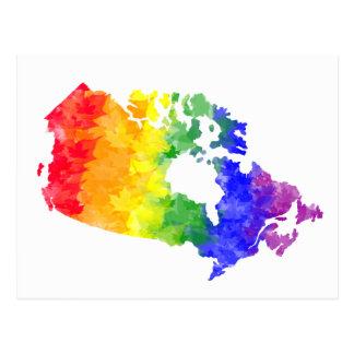 Het briefkaart van de Trots van de Regenboog van