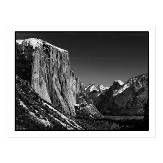 Het Briefkaart van de Vallei van Yosemite