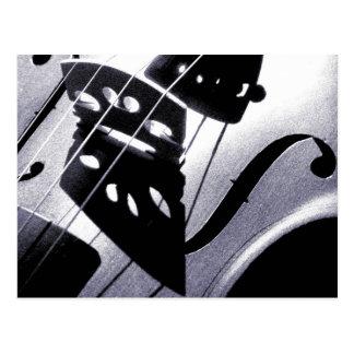 Het Briefkaart van de viool
