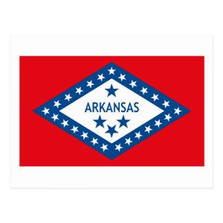 Het Briefkaart van de Vlag van Arkansas