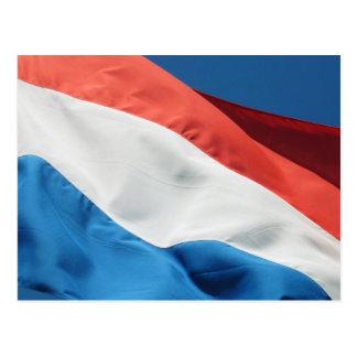Het Briefkaart van de Vlag van Nederland