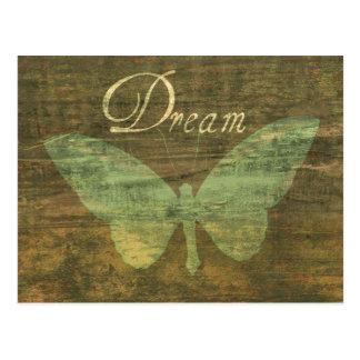 Het Briefkaart van de Vlinder van de Droom van het