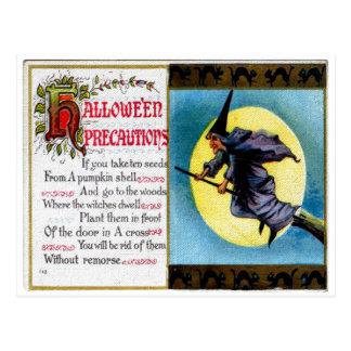 Het Briefkaart van de Voorzorgsmaatregelen van de