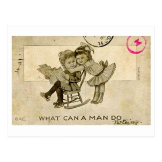 Het Briefkaart van de vrijage (1911)