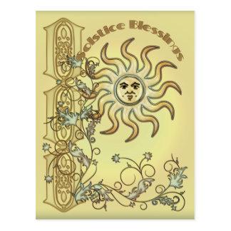 Het Briefkaart van de Zon van Litha