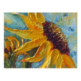 Het Briefkaart van de zonnebloem