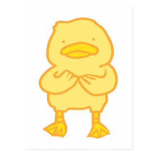 Het Briefkaart van Ducky