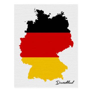 Het briefkaart van Duitsland