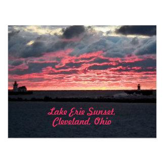 Het Briefkaart van Erie van het meer van de