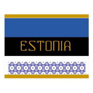 Het briefkaart van Estland
