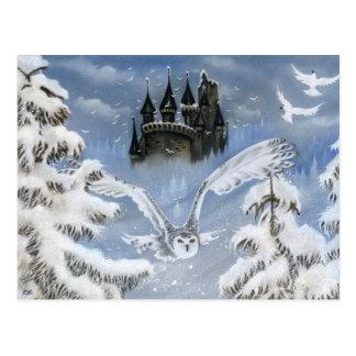 Het Briefkaart van Fairytale van de Winter van het
