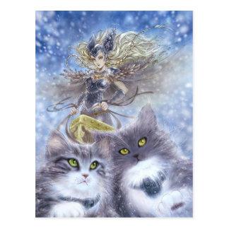 Het Briefkaart van Freyja