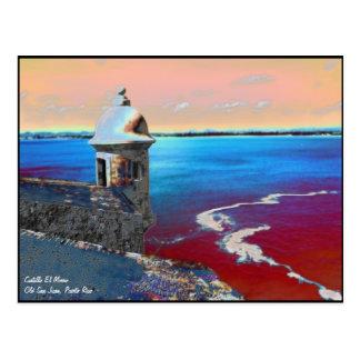 Het Briefkaart van Gr Morro -1 van Castillo