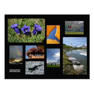 Het briefkaart van Grindelwald