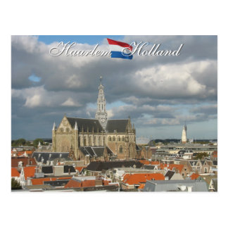 Het Briefkaart van Haarlem Holland