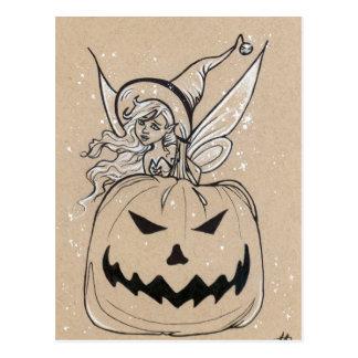 Het Briefkaart van Halloween van de Fee van