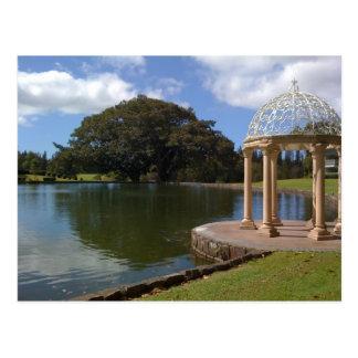 Het Briefkaart van Hawaï Gazebo van Lanai
