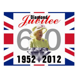 Het Briefkaart van het diamanten jubileum 1952-201