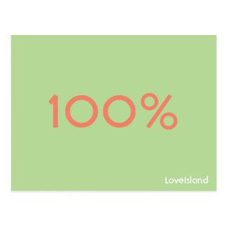 Het Briefkaart van het Eiland van de Liefde van