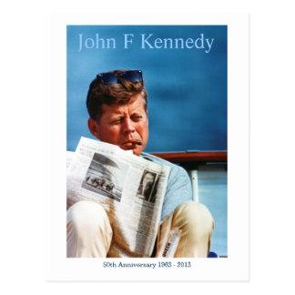 Het Briefkaart van het Jubileum JFK vijftigste