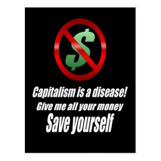 Het Briefkaart van het kapitalisme