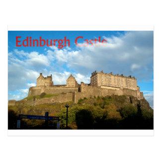 Het Briefkaart van het Kasteel van Edinburgh