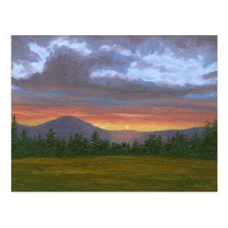 Het Briefkaart van het landschap van de Berg van