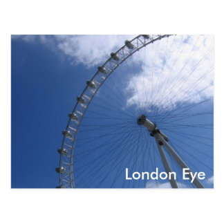 Het Briefkaart van het Oog van Londen