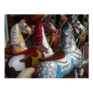 Het Briefkaart van het Paard van de carrousel