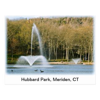 Het briefkaart van het Park van Hubbard