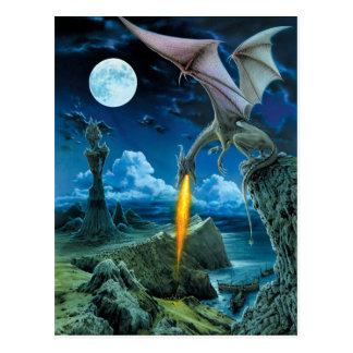 Het Briefkaart van het Spit van de draak