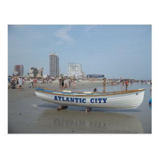 Het Briefkaart van het Strand van Atlantic City