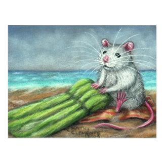 Het briefkaart van het Strand van de Rat van het