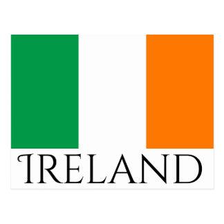 Het briefkaart van Ierland
