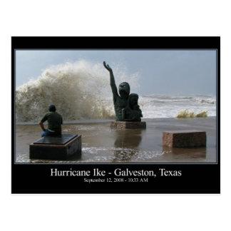 Het Briefkaart van Ike van de orkaan