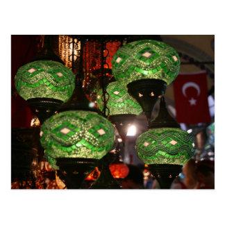 Het Briefkaart van Istanboel, Turkije