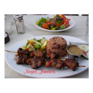 Het Briefkaart van Jamaïca van Negril