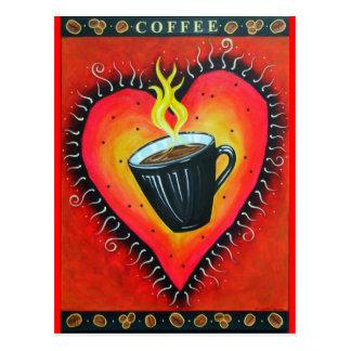 """Het Briefkaart van Java """"van de Liefde"""""""