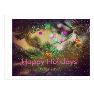 Het Briefkaart van Kerstmis van de vakantie
