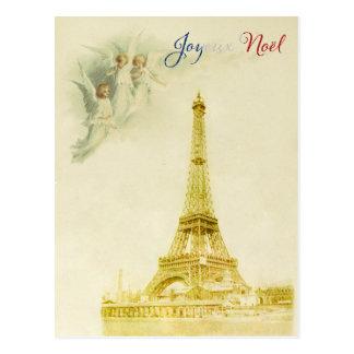 Het Briefkaart van Kerstmis van Noel van Joyeux
