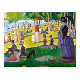Het Briefkaart van La Grande Jatte van Seurat