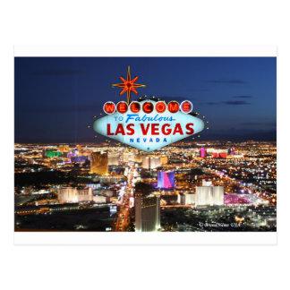 Het Briefkaart van Las Vegas