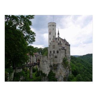 Het Briefkaart van Lichtenstein van Schloss