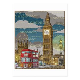 Het Briefkaart van Londen