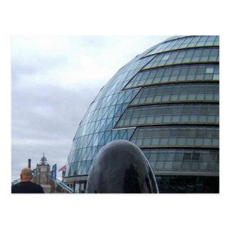 Het Briefkaart van Londen van het Stadhuis (GLA)